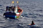 Tối nay các ngư dân Việt Nam được Trung Quốc cứu về đến Đà Nẵng