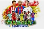 Bảng xếp hạng bóng đá Tây Ban Nha 2018 vòng 19 mới nhất