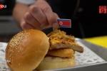 Độc đáo món hamburger lấy cảm hứng từ thượng đỉnh Mỹ - Triều