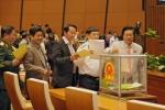 Không lấy phiếu tín nhiệm Chủ tịch nước và Bộ trưởng TT-TT tại kỳ họp thứ 6