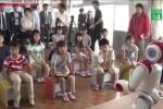 Cận cảnh robot dạy tiếng Anh ở Nhật Bản