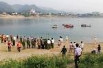 Video: Hiện trường 8 em học sinh chết đuối trên sông Đà