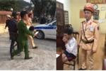 CSGT giải cứu nữ giáo viên tiểu học bị tên cướp dùng dao khống chế