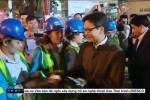 Video: Phó Thủ tướng Vũ Đức Đam thăm bác sỹ và công nhân môi trường trực Tết