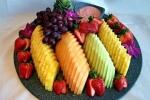Mẹo gọt hoa quả vừa nhanh vừa đẹp