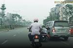 Xe ô tô tông ngã cô gái rồi bỏ chạy có phải ở Thái Bình?