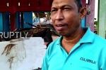 Clip: Dân xót xa nhìn cảnh đổ nát như tận thế sau động đất ở Indonesia