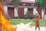 Bình chữa cháy Trung Quốc không đạt chất lượng khi thử nghiệm?