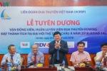 VOV trao thưởng cho đội tuyển Rowing Việt Nam giành HCV ASIAD 200 triệu đồng