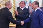 Tổng thống Putin đề cử ông Medvedev vào vị trí Thủ tướng Nga