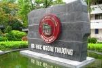 291 thí sinh được tuyển thẳng vào Đại học Ngoại Thương