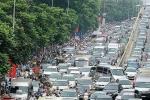 Chính phủ đồng ý cho Hà Nội lập đề án thu phí phương tiện vào nội thành
