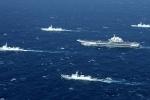 Hàng chục chiến hạm Trung Quốc ồ ạt di chuyển xuống Biển Đông