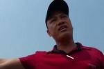 Kẻ côn đồ mặc áo đỏ đập máy quay của phóng viên trên cầu Nhật Tân là ai?