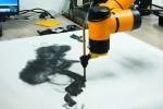 Video: Robot vẽ tranh đẹp như họa sĩ, giá cả chục nghìn USD mỗi bức