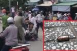 Cảnh sát nổ súng bắt cướp ở TP.HCM: Tên cướp tàn ác chém người đi đường, cướp xe bỏ trốn
