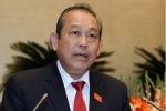 Phó Thủ tướng Trương Hòa Bình: Bổ nhiệm người nhà gây bức xúc dư luận