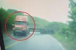 Clip: Container drift 'khét lẹt' và cái kết như phim hành động ở Quảng Ninh
