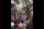 Cháy lớn ở đền Mẫu Đồng Đăng Lạng Sơn