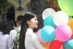 Ảnh: Ngắm vẻ đẹp tinh khôi của nữ sinh ở ngôi trường hơn 100 tuổi tại Hà Nội