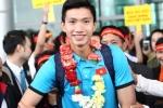 'Hotboy' U23 Việt Nam Đoàn Văn Hậu về quê, đường Thái Bình ùn tắc 2km