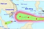 Bão Tembin tăng cấp tiến vào Biển Đông