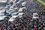 Hơn 90% người dân đồng ý dừng xe máy vào nội đô: 'Dân Hà Nội đã thấm đòn cảnh tắc đường, khói bụi'