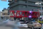 Công nghệ xe cứu hỏa tương lai: Không sợ tắc đường và độ cao