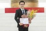 Phó Giáo sư trẻ nhất Việt Nam lọt top 10 gương mặt trẻ Thủ đô tiêu biểu 2012-2017