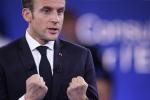 Tổng thống Pháp Macron kêu gọi hãy mạnh mẽ trước ông Putin