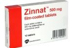 Cục Quản lý Dược cấm dùng thuốc kháng sinh giả Zinnat Film Tablet 500mg