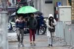 Miền Bắc mưa lạnh ngày cuối tuần