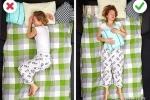 Chỉ cần ngủ theo cách này, bạn không bị đau lưng, đau vai vào sáng sớm