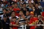 My nhan 'Nong cung World Cup' ruc ro tren khan dai, tiep lua U23 Viet Nam hinh anh 8