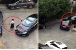 Clip: Bị chọc tức, nữ tài xế lái ô tô trả thù cực nguy hiểm