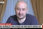 Nhà báo Nga mô tả chi tiết quá trình giả chết để tố cáo âm mưu của Matxcơva