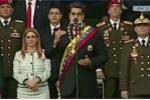 Video: Tổng thống Venezuela bị máy bay không người lái ám sát hụt