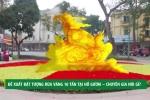 Đề xuất đặt tượng rùa vàng 10 tấn tại Hồ Gươm: Chuyên gia nói gì?
