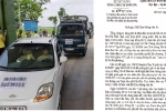 Dân đưa ô tô phản đối trạm thu phí Cầu Rác: Đề nghị Bộ GTVT miễn giảm phí