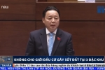 Bộ trưởng Trần Hồng Hà: 'Không cho giới đầu cơ gây sốt đất tại 3 đặc khu'