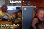 Video: Truyền thống đón Giáng sinh kinh dị ở Séc khiến trẻ em sợ khóc thét