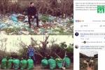 'Thử thách dọn rác' gây bão mạng thế giới