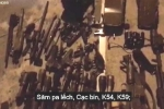 Clip: Cận cảnh kho vũ khí nóng của trùm ma túy tại Lóng Luông