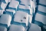 Đi tìm lời giải hiện tượng những 'viên đường' bằng băng khổng lồ ở Nam Cực