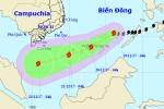 Tin bão mới nhất cơn bão số 15: Bão mạnh cấp 8, giật cấp 10