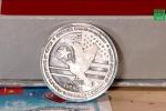 500.000 đồng một đồng xu bạc kỷ niệm thượng đỉnh Mỹ - Triều