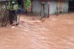 Ảnh: Lũ quét nhấn chìm nhiều ngôi nhà ở Hoà Bình