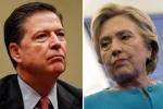 Trước thềm bầu cử, bà Clinton hứng 'đòn' nặng từ FBI