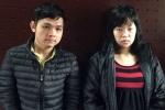 Cặp tình nhân buôn ma túy rút chốt lựu đạn cố thủ trên taxi