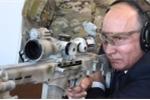 Video: Tổng thống Putin khai hoả mục tiêu bằng súng trường hiện đại